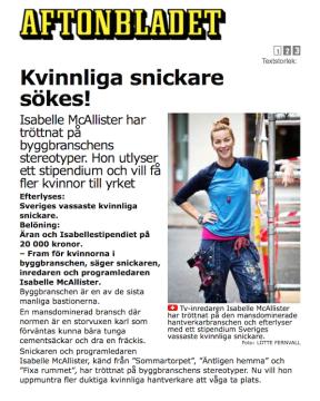 aftonbladetisabellestipendiet2012